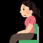 私、HSP&発達障害かも【No.23:椅子に座ると,かかとが浮くことが多い】