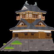 日本のお城のイラスト